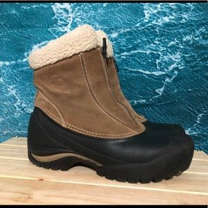 Ankle height sorel winter snow boots